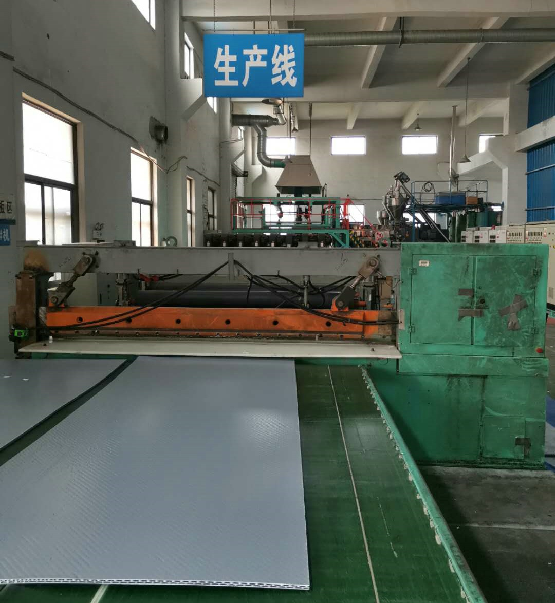 Plastic enclosure production line