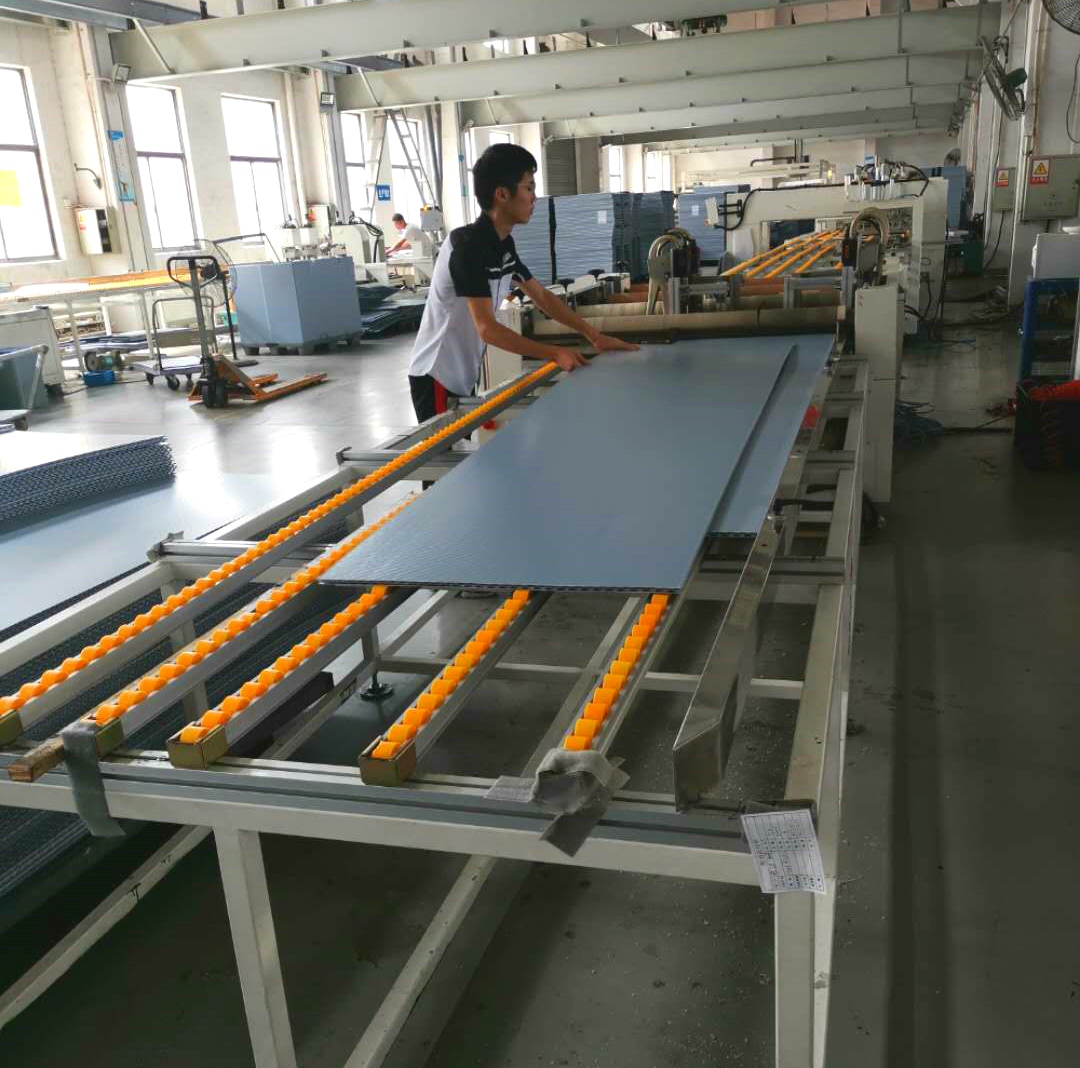 Coaming production line