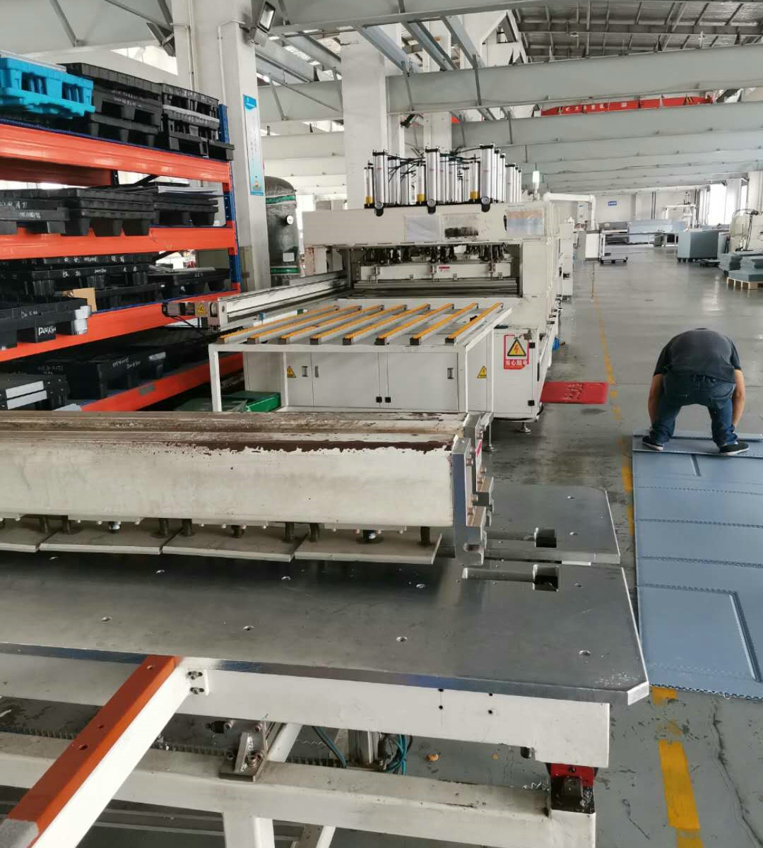 Production line of blister box